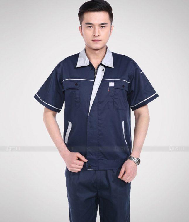Dong phuc cong nhan GLU CN1349 mẫu áo công nhân