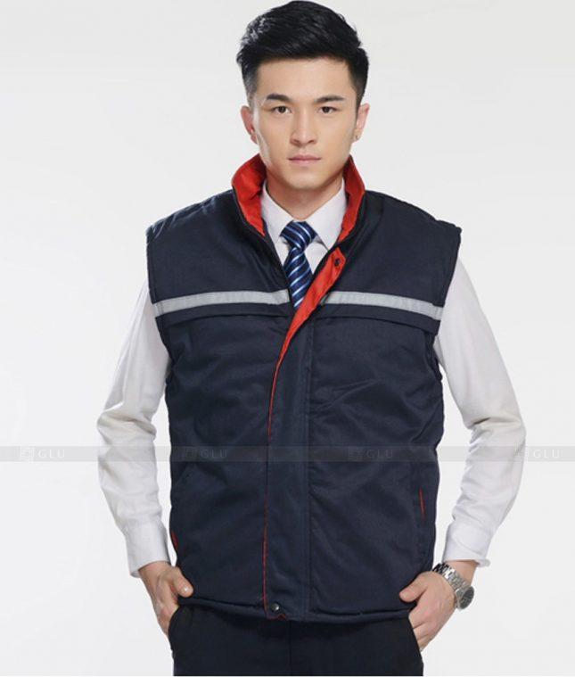 Dong phuc cong nhan GLU CN1354 mẫu áo công nhân