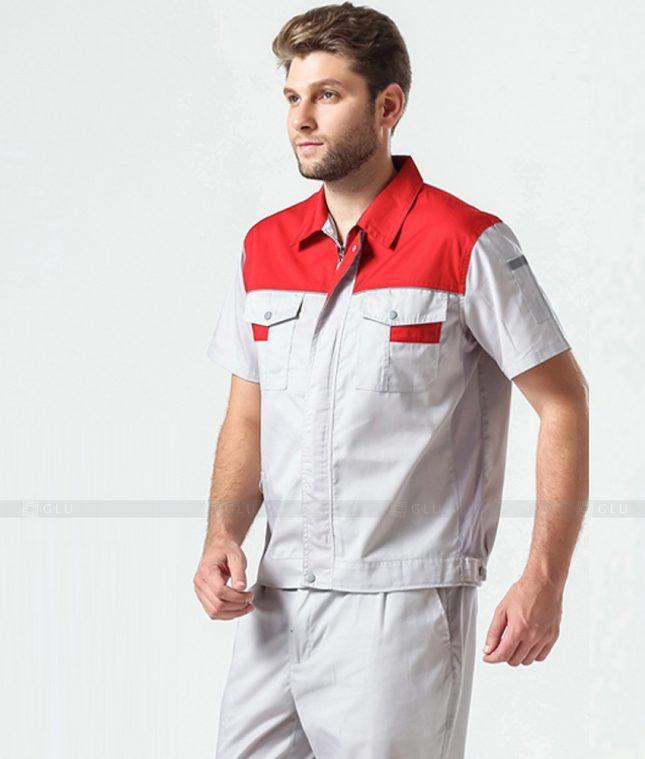 Dong phuc cong nhan GLU CN1362 mẫu áo công nhân