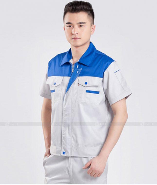 Dong phuc cong nhan GLU CN1363 mẫu áo công nhân