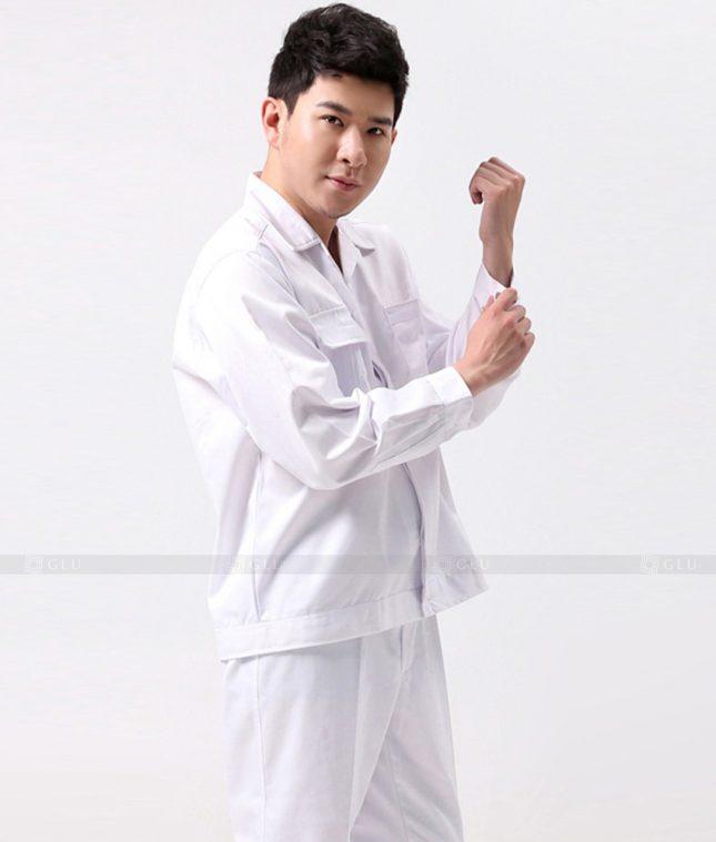 Dong phuc cong nhan GLU CN1367 mẫu áo công nhân