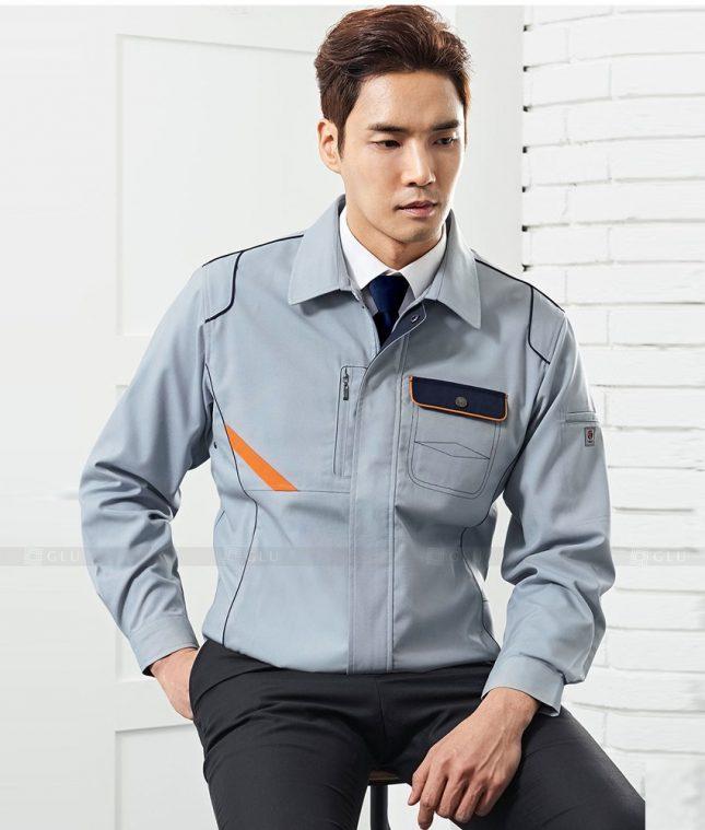Dong phuc cong nhan GLU CN1371 mẫu áo công nhân