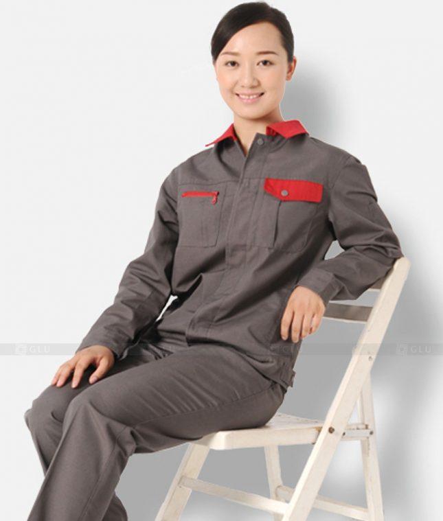 Dong phuc cong nhan GLU CN1373 mẫu áo công nhân