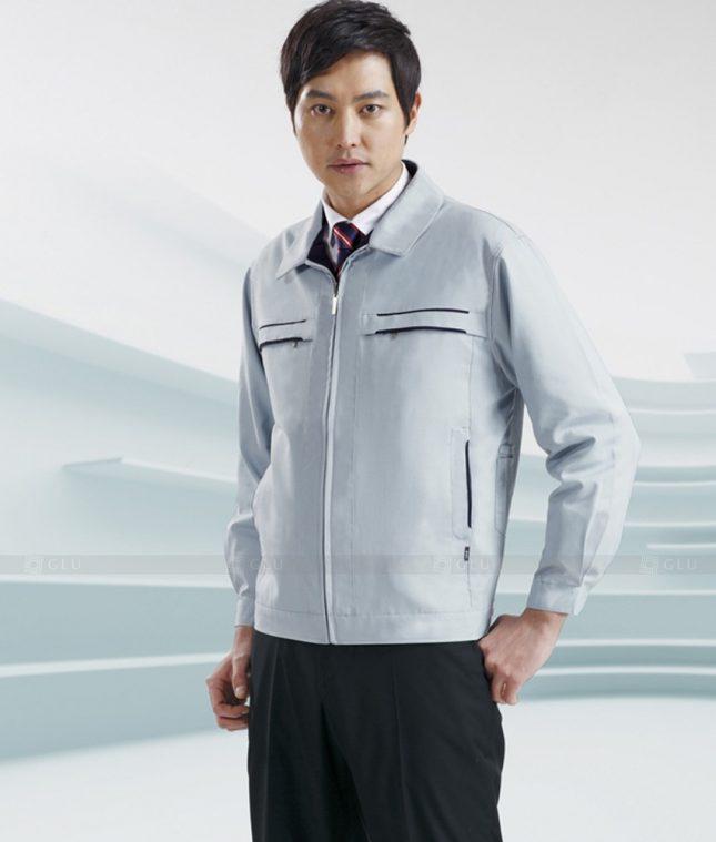 Dong phuc cong nhan GLU CN1382 mẫu áo công nhân
