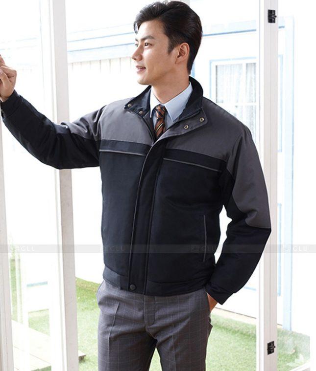 Dong phuc cong nhan GLU CN1384 mẫu áo công nhân