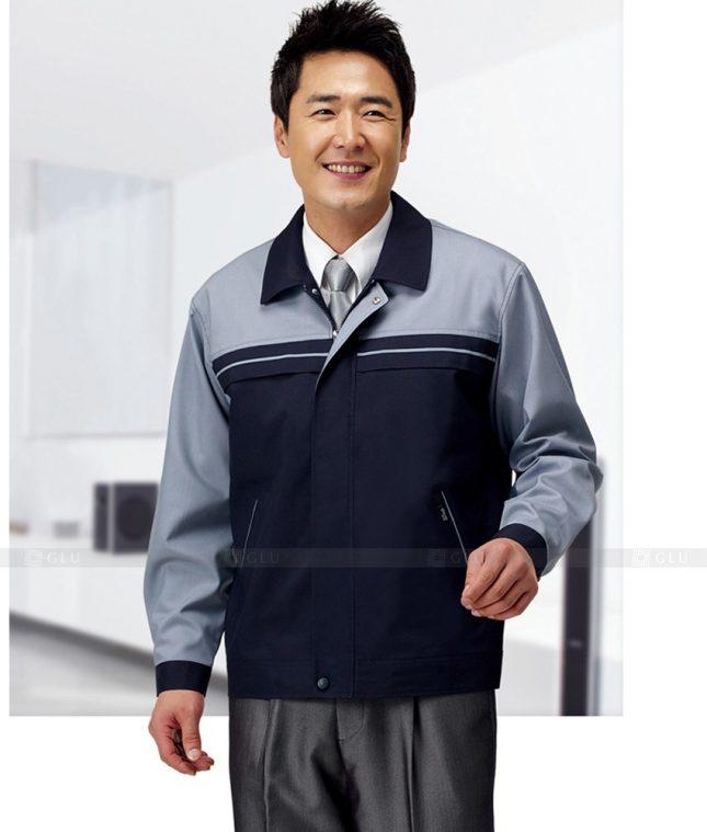 Dong phuc cong nhan GLU CN1394 mẫu áo công nhân