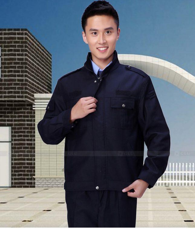 Dong phuc cong nhan GLU CN1398 mẫu áo công nhân