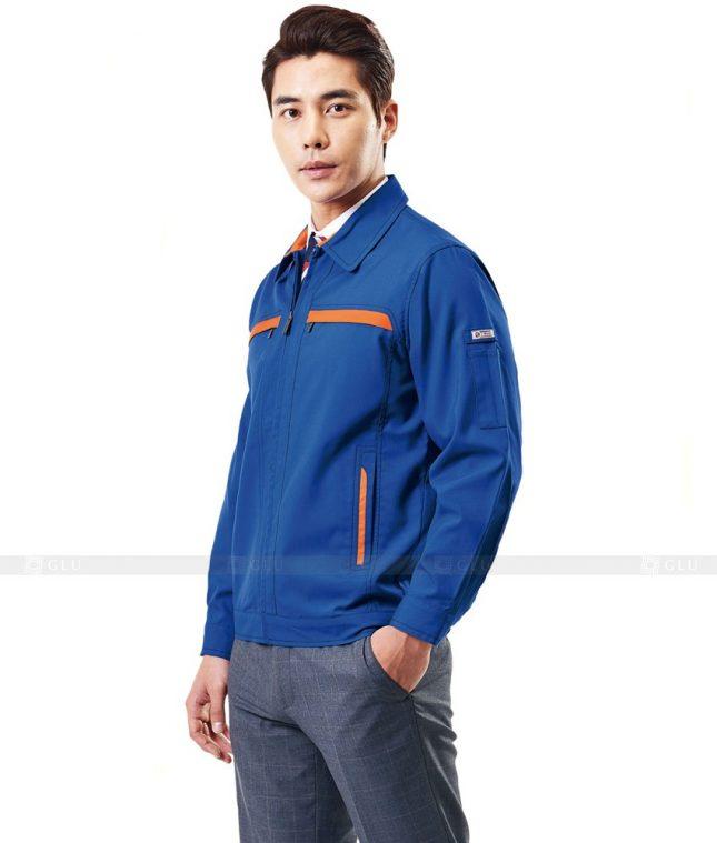 Dong phuc cong nhan GLU CN301 mẫu áo công nhân