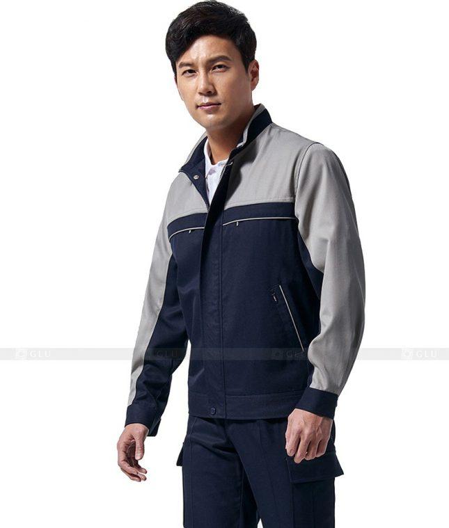 Dong phuc cong nhan GLU CN303 mẫu áo công nhân