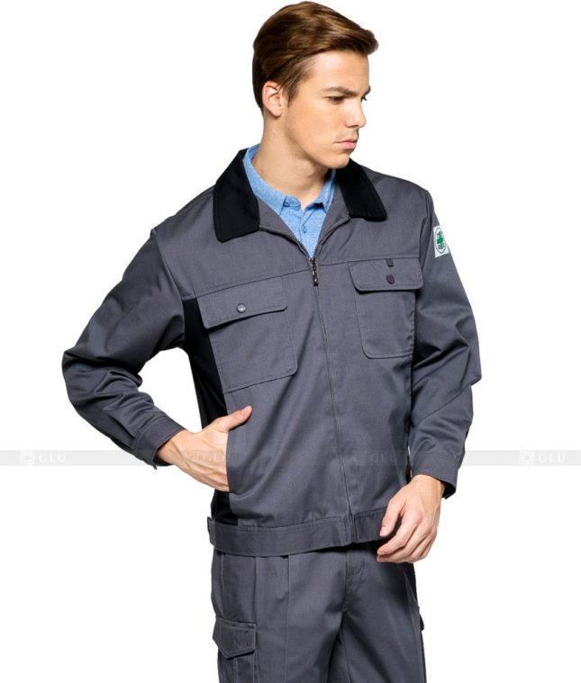 Dong phuc cong nhan GLU CN306 mẫu áo công nhân