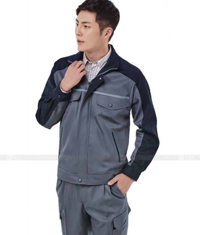 Dong phuc cong nhan GLU CN310 mẫu áo công nhân