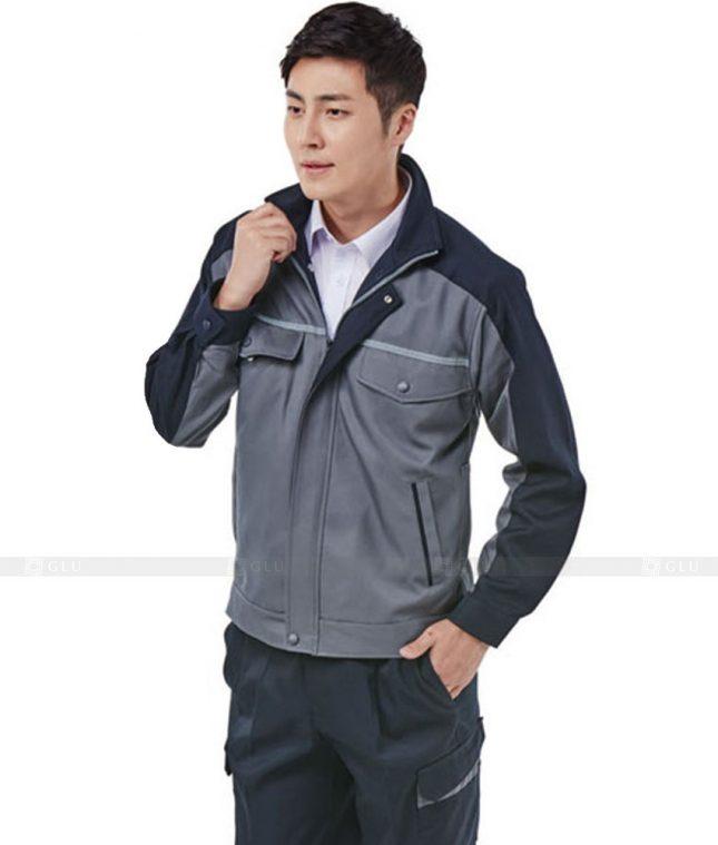 Dong phuc cong nhan GLU CN311 mẫu áo công nhân