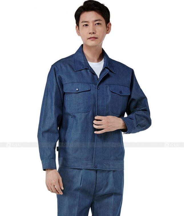 Dong phuc cong nhan GLU CN312 mẫu áo công nhân