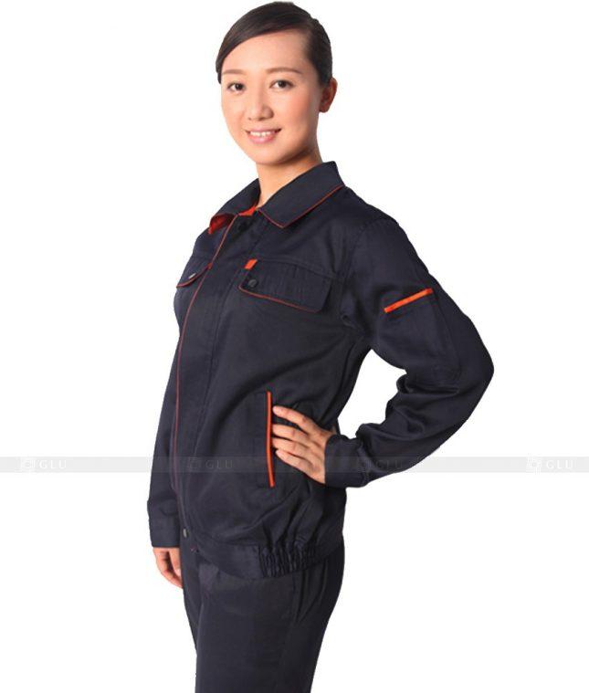 Dong phuc cong nhan GLU CN314 mẫu áo công nhân