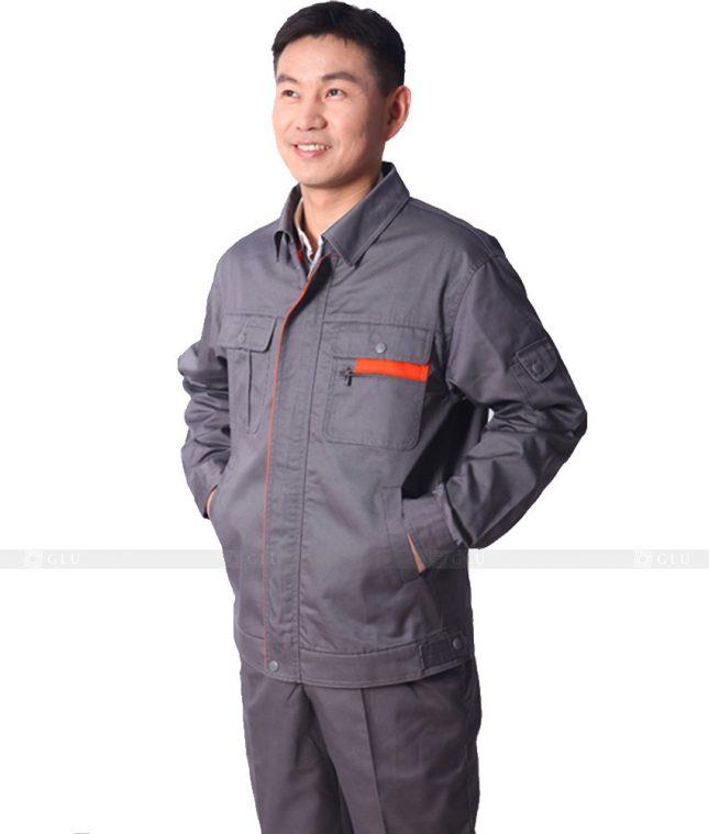 Dong phuc cong nhan GLU CN316 mẫu áo công nhân