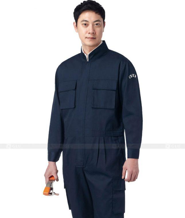 Dong phuc cong nhan GLU CN318 mẫu áo công nhân