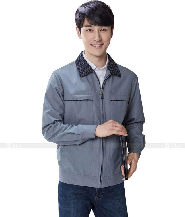 Dong phuc cong nhan GLU CN319 mẫu áo công nhân
