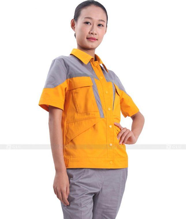 Dong phuc cong nhan GLU CN320 mẫu áo công nhân