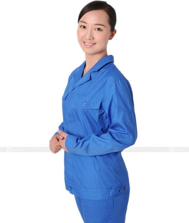 Dong phuc cong nhan GLU CN321 mẫu áo công nhân