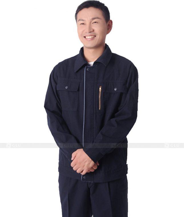 Dong phuc cong nhan GLU CN324 mẫu áo công nhân