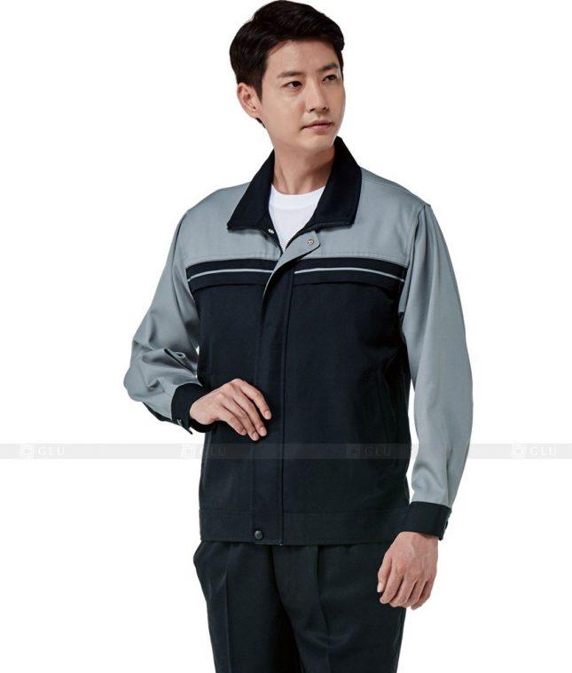 Dong phuc cong nhan GLU CN325 mẫu áo công nhân