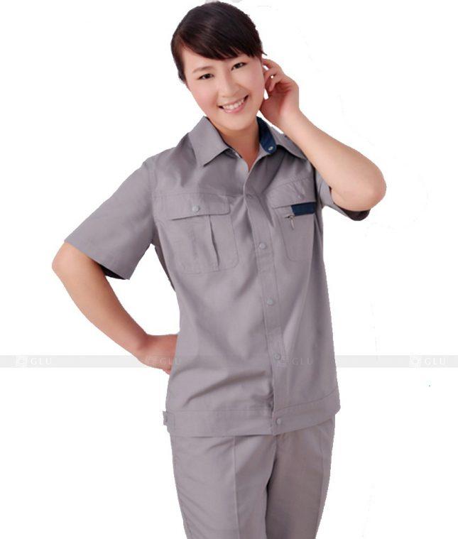 Dong phuc cong nhan GLU CN326 mẫu áo công nhân