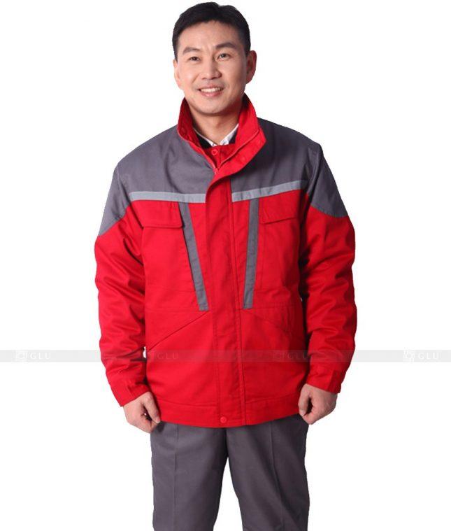 Dong phuc cong nhan GLU CN328 mẫu áo công nhân