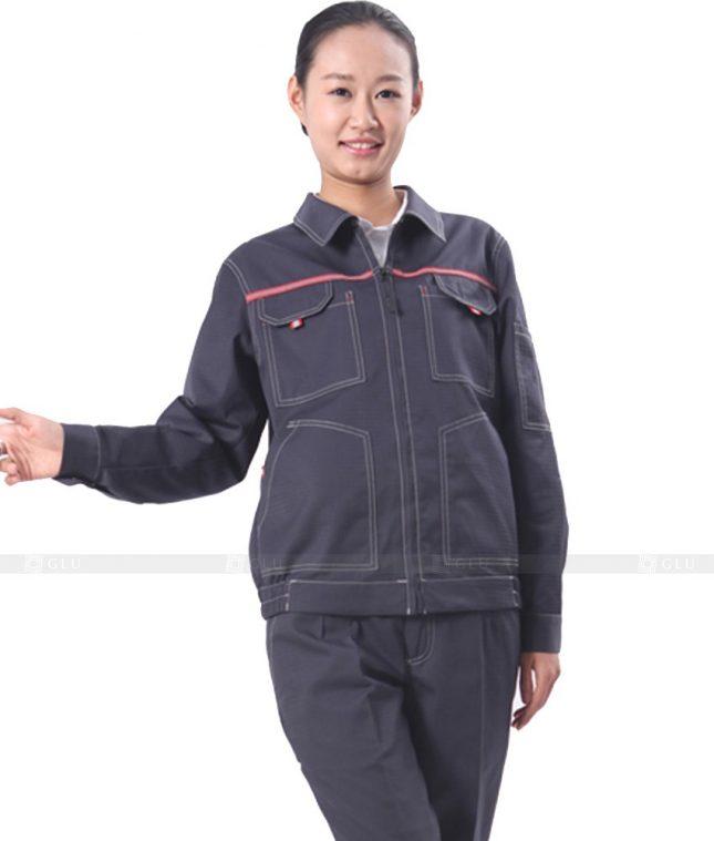 Dong phuc cong nhan GLU CN331 mẫu áo công nhân