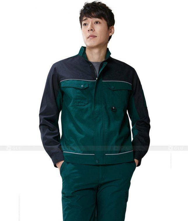 Dong phuc cong nhan GLU CN334 mẫu áo công nhân
