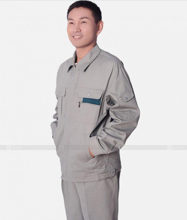 Dong phuc cong nhan GLU CN339 mẫu áo công nhân