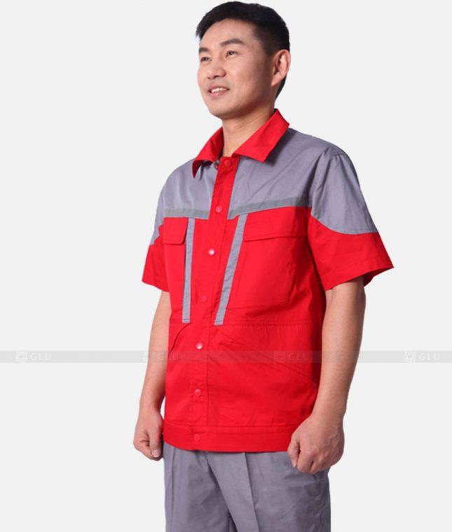 Dong phuc cong nhan GLU CN340 mẫu áo công nhân
