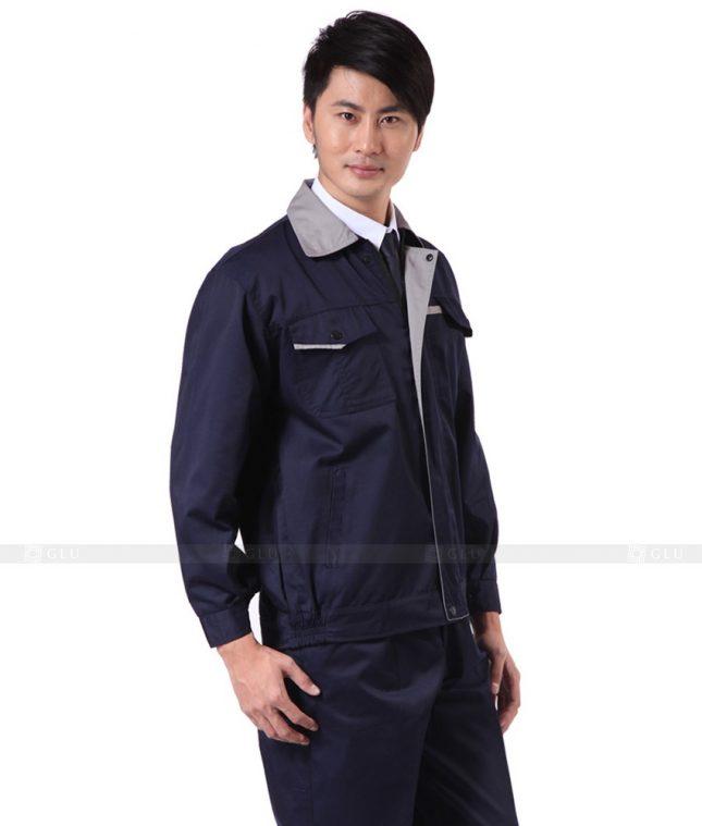 Dong phuc cong nhan GLU CN341 mẫu áo công nhân