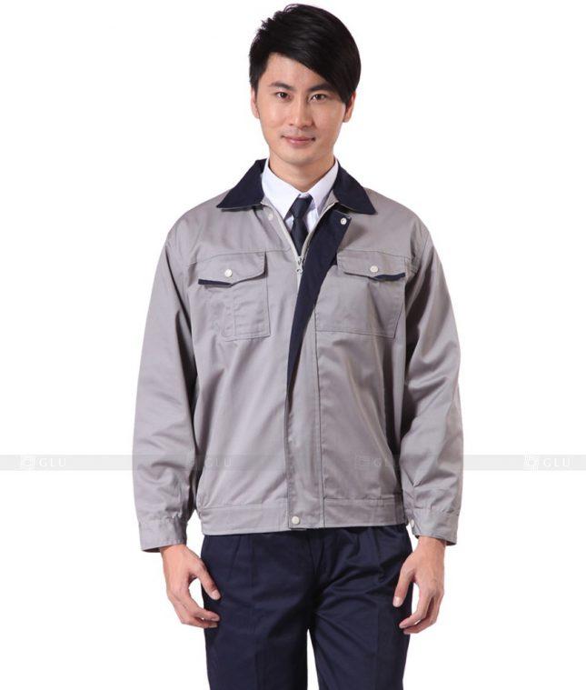 Dong phuc cong nhan GLU CN342 mẫu áo công nhân