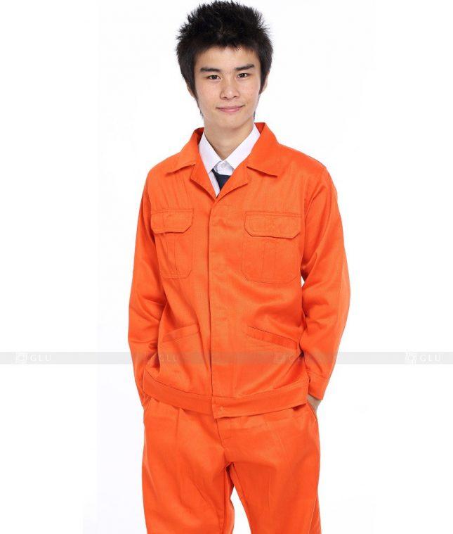 Dong phuc cong nhan GLU CN343 mẫu áo công nhân