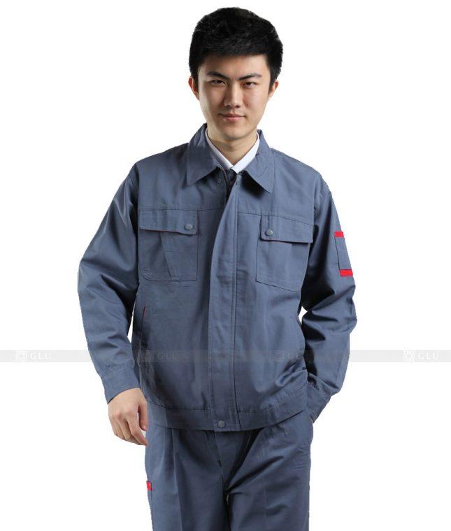 Dong phuc cong nhan GLU CN344 mẫu áo công nhân