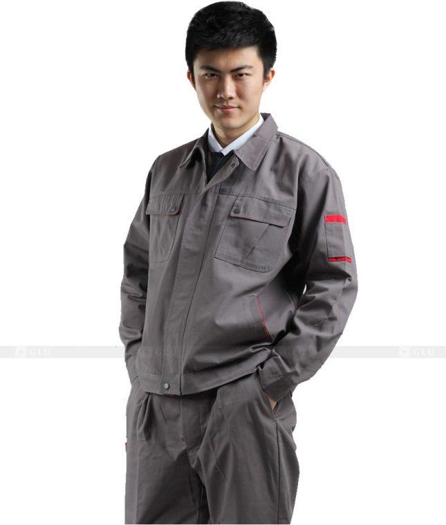 Dong phuc cong nhan GLU CN345 mẫu áo công nhân
