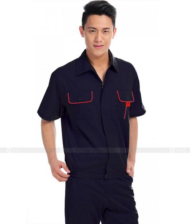 Dong phuc cong nhan GLU CN346 mẫu áo công nhân