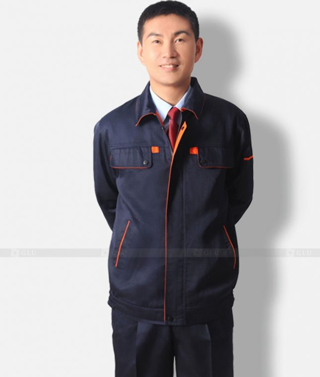 Dong phuc cong nhan GLU CN347 mẫu áo công nhân
