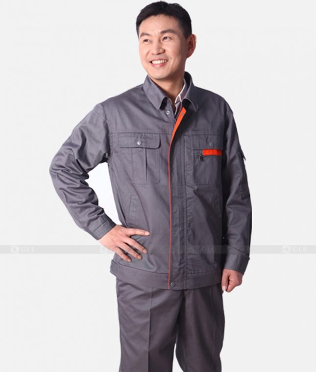 Dong phuc cong nhan GLU CN348 mẫu áo công nhân