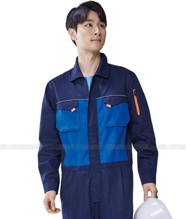 Dong phuc cong nhan GLU CN350 mẫu áo công nhân