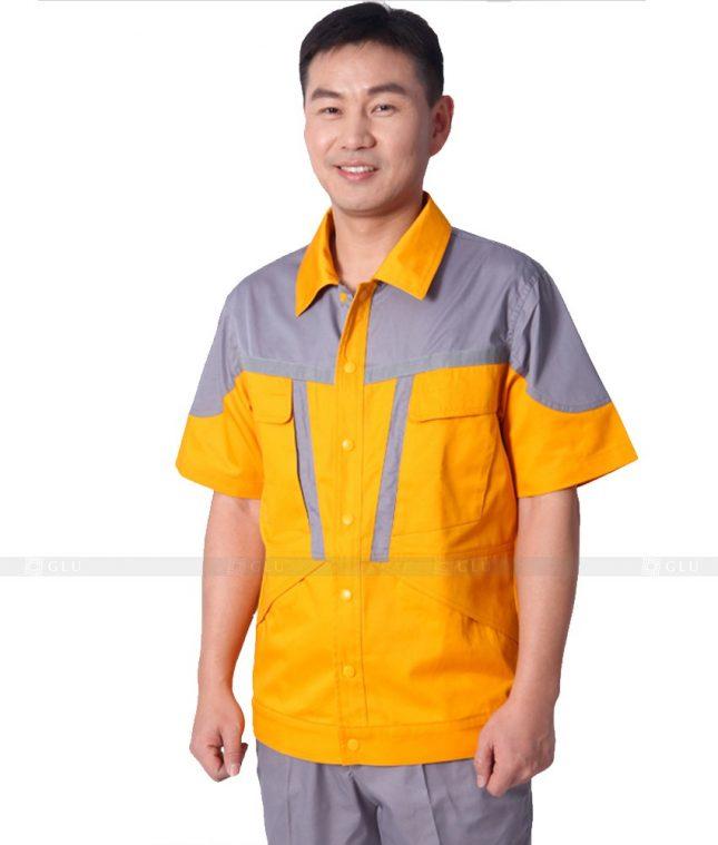 Dong phuc cong nhan GLU CN352 mẫu áo công nhân