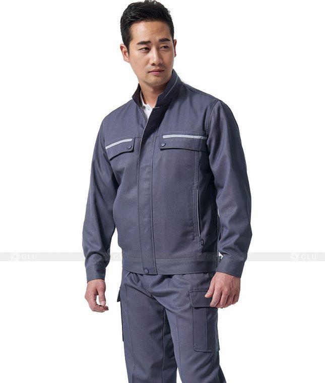 Dong phuc cong nhan GLU CN354 mẫu áo công nhân