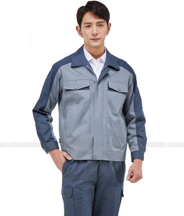 Dong phuc cong nhan GLU CN355 mẫu áo công nhân