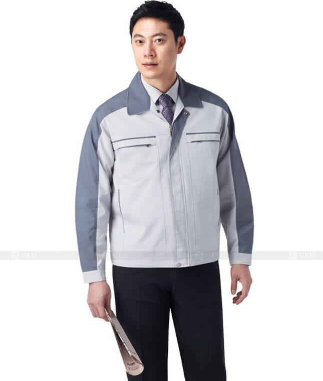 Dong phuc cong nhan GLU CN357 mẫu áo công nhân
