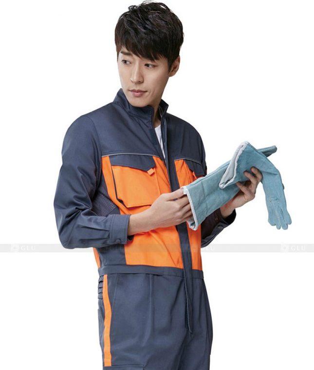 Dong phuc cong nhan GLU CN358 mẫu áo công nhân