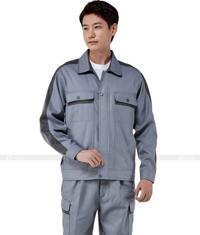 Dong phuc cong nhan GLU CN359 mẫu áo công nhân