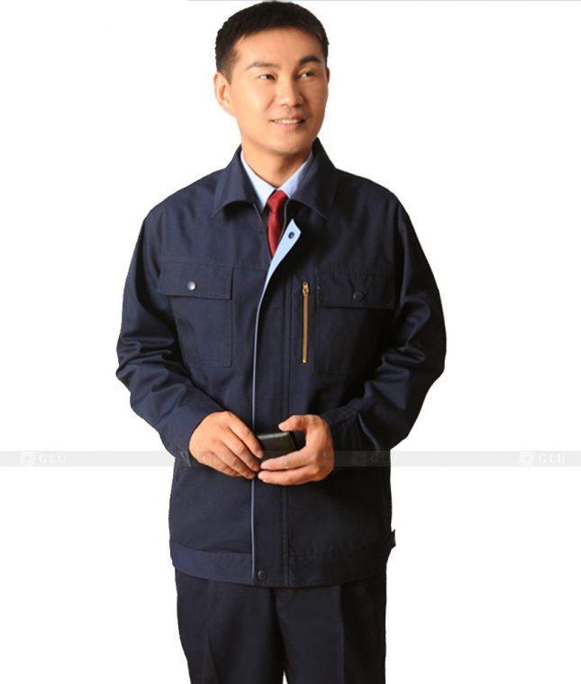 Dong phuc cong nhan GLU CN360 mẫu áo công nhân