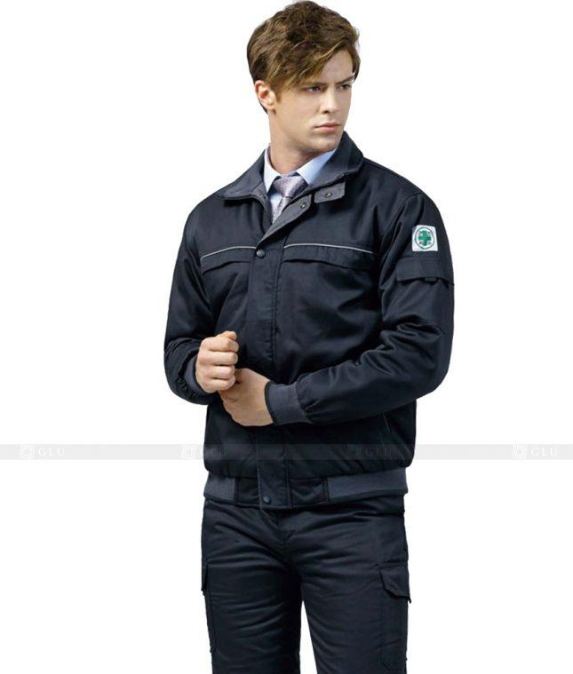 Dong phuc cong nhan GLU CN361 mẫu áo công nhân