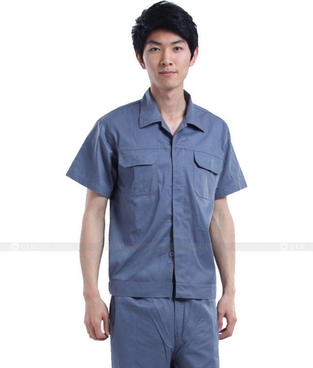 Dong phuc cong nhan GLU CN362 mẫu áo công nhân