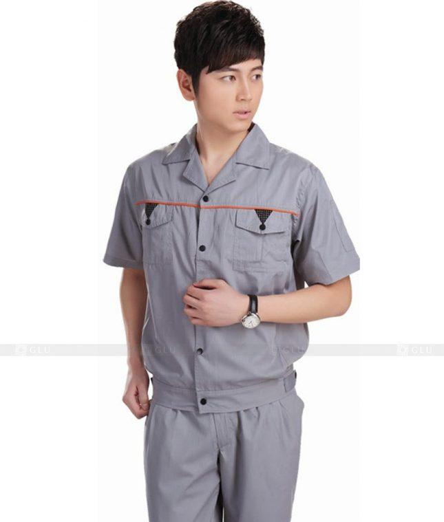 Dong phuc cong nhan GLU CN365 mẫu áo công nhân